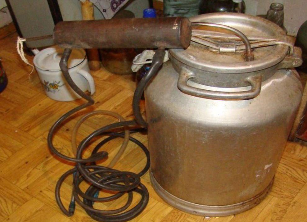 Как самому сделать самогонный аппарат из бидона смеси домашняя пивоварня
