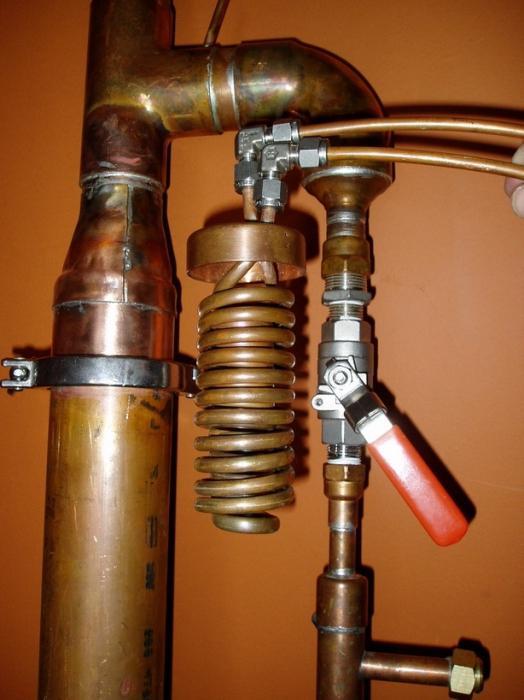 Ректификационная колонна из меди для самогонного аппарата купить самогонные аппараты новые цена