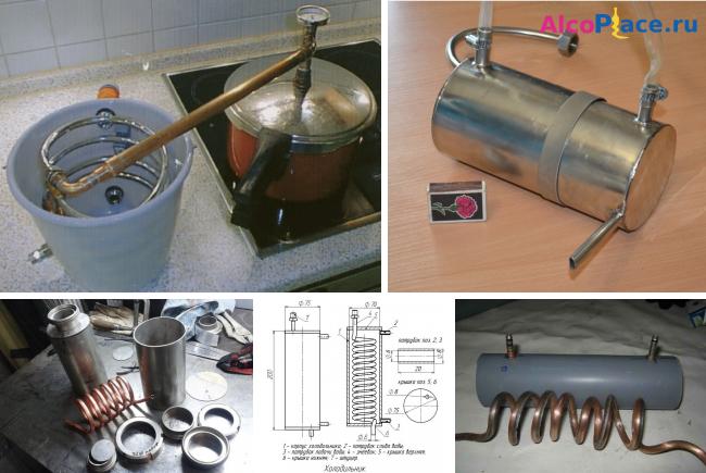 Как сделать змеевик для самогонный аппарат своими руками 370